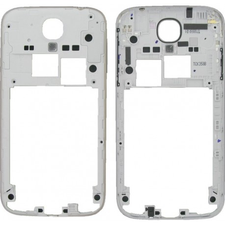 Samsung Galaxy S4 i9500 i9505 i9506 - frame, silver middle part, housing