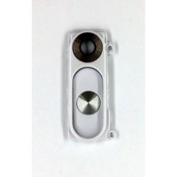 LG G3 D850 D851 D855 - Kryt, sklo kamery, fotoaparátu a zadní tlačítko - bílá