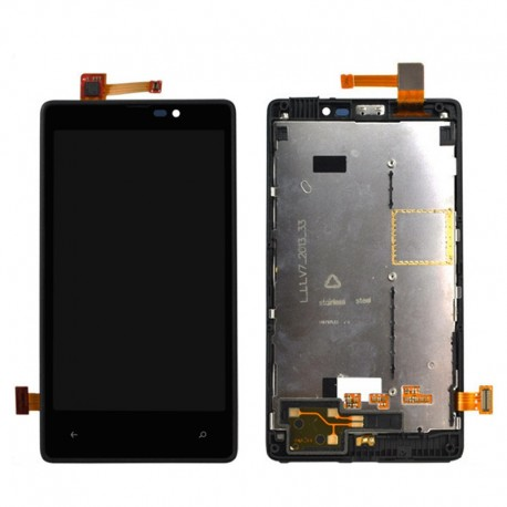 Nokia Lumia 820 - LCD display with touch frame-layer touch glass touch panel