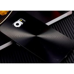 Samsung Galaxy S6 - Čierny zadný hliníkový kryt batérie