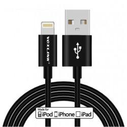Dane Voxlink i kabel zasilający Lightning 1m - czarny