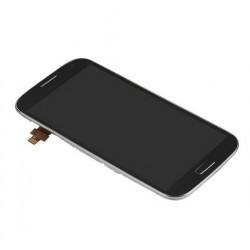 Samsung Galaxy S4 i9500 - Black LCD display + touch pad with frame