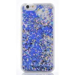 Apple iPhone 6 - Přesýpací zadní kryt telefonu - Modrý
