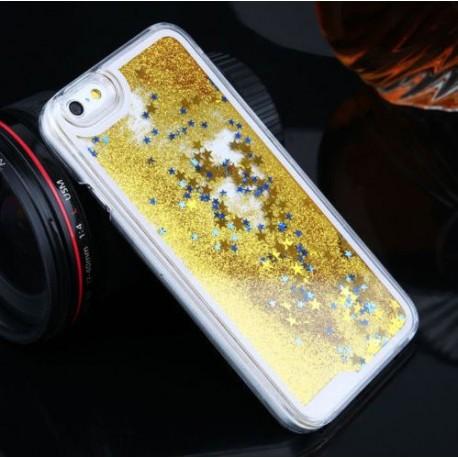 Apple iPhone 6 Plus - Přesýpací zadní kryt telefonu - Zlatý