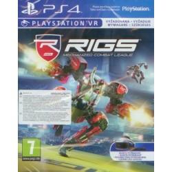 RIGS Mechanized Combat League - PS4 - Wersja pudełkowa