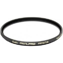 Ochranný filtr REALPRO Protector chrání objektiv před fyzickým poškozením, znečištěním či poškrábáním.