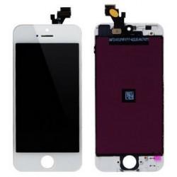 Apple iPhone 5 - biały wyświetlacz LCD + panel dotykowy, szkło dotykowe, panel dotykowy