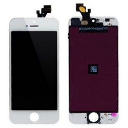 Apple iPhone 5 - White LCD Touch Screen + layer touch glass touch panel