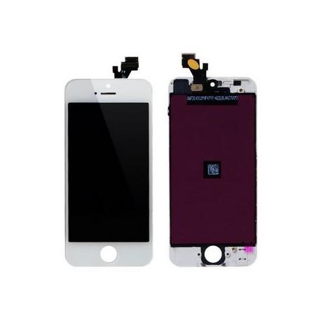 Apple iPhone 5 - Bílý LCD displej + dotyková vrstva, dotykové sklo, dotyková deska