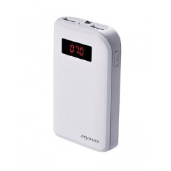 iMyMax Carbon White Powerbank - 10.000mAh