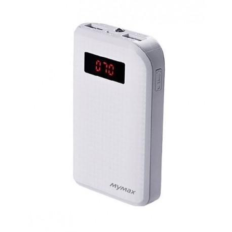 iMyMax Carbon White Powerbank - 10.000mAh