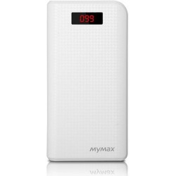iMyMax Carbon White Powerbank - 30.000mAh