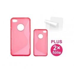 Apple iPhone 6 Plus - obudowa CONNECT IT - czerwona + 2x folia