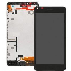 Nokia Lumia 640 - LCD displej s rámečkem + dotyková vrstva, dotykové sklo, dotyková deska