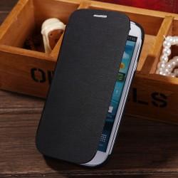Samsung Galaxy S3 i9300 Flip - Černé pouzdro