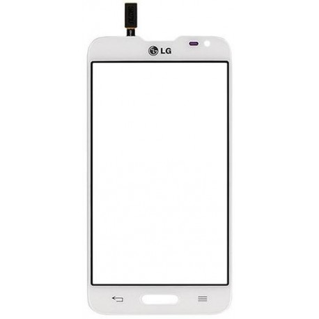 LG L65 D280 D280N - White touch pad, touch glass, touch plate + flex