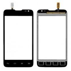 LG L65 D285 - Čierna dotyková vrstva, dotykové sklo, dotyková doska + flex