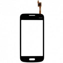 Samsung Galaxy Core Plus G350E Duos SM-G350E - Czarny panel dotykowy, szkło dotykowe, płyta dotykowa + flex