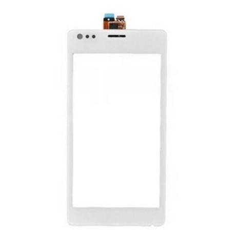 Sony Xperia M C1904 C1905 C2004 C2005 - Bílá dotyková vrstva, dotykové sklo, dotyková deska