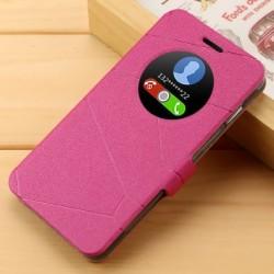 Asus Zenfone 5 A501CG A500KL - ružové flipové puzdro