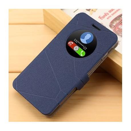 Asus Zenfone 5 A501CG A500KL - blue flip case