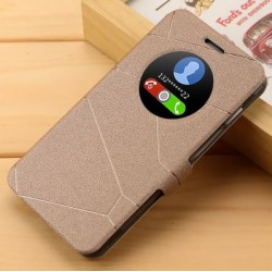 Asus Zenfone 5 A501CG A500KL - zlaté flipové pouzdro