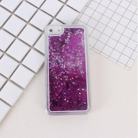 Apple iPhone 6 - Přesýpací zadní kryt telefonu - Fialový