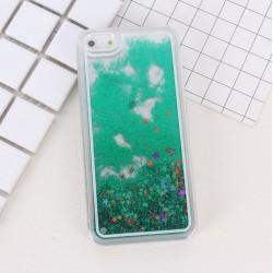 Apple iPhone 6 6S - Přesýpací zadní kryt telefonu - Zelený