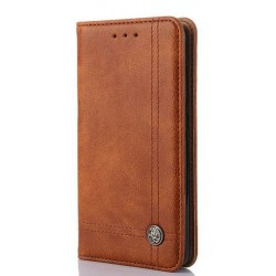 Asus Zenfone 5 A501CG A500KL - brown PU leather case