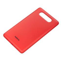 Nokia Lumia 820 - czerwona tylna pokrywa baterii