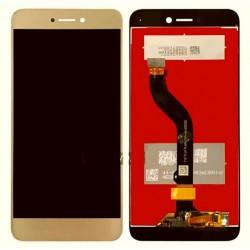 Huawei P9 Lite 2017 - Zlatá dotyková vrstva + LCD displej