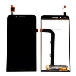 ASUS Zenfone GO ZC500TG - Čierny LCD displej + dotyková vrstva, dotykové sklo, dotyková doska