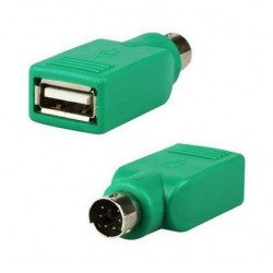 USB-A male adapter - PS / 2 male
