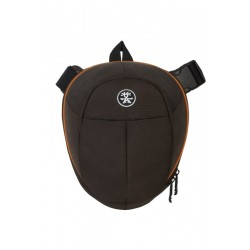 Crumpler Jimmy Bo - 300 (JBO300-006) - brown camera case and camera
