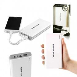 Powerbanka - 30.000mAh - bílá / šedá