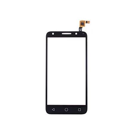 Vodafone Smart Turbo 7 500 VFD500 VF500 vfd500 VF D500 - Černá dotyková vrstva, dotykové sklo, dotyková deska