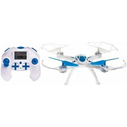 RCBUY Wasp Blue LH-X16 - white / blue dron
