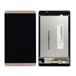 Huawei Mediapad M2 8.0 M2-801w M2-801 - LCD displej + zlatá dotyková vrstva, dotykové sklo, dotyková deska