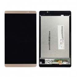 Huawei Mediapad M2 8.0 M2-801w M2-801 - LCD screen + gold touch pad, touch glass, touch panel