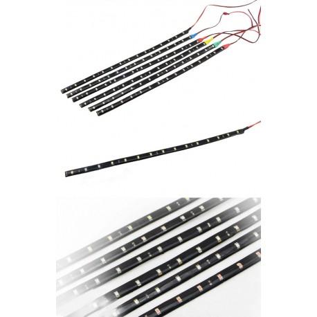 LED strip 12V DC 120cm 60 LED - waterproof - white