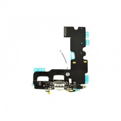 Apple iPhone 7 - Charging connector + flex cable - white