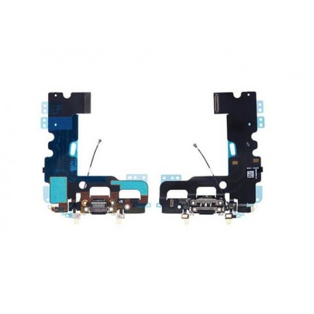Apple iPhone 7 - Charging connector + flex cable - black