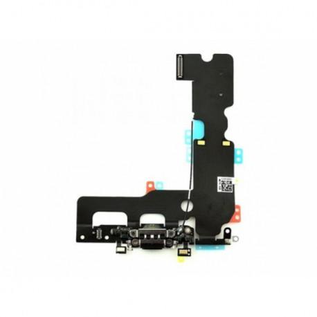 Apple iPhone 7 Plus - Charging connector + flex cable - black