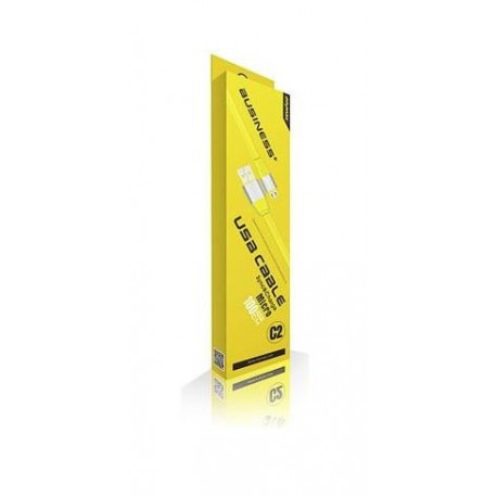 iMyMax Business Plus Micro USB Cable - Yellow