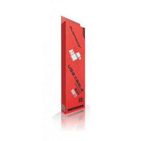 iMyMax Business Plus Micro USB kabel - červený