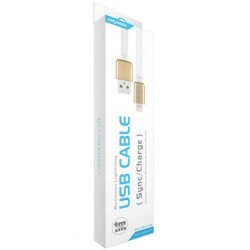 iMyMax Business lightning cable - White / Gold