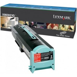 Lexmark X860H21G - black - genuine toner