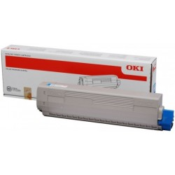 OKI C9655 (43837131) - blue - genuine toner