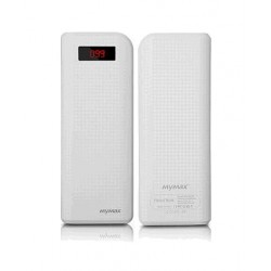 iMyMax Carbon White Powerbank - 20.000mAh