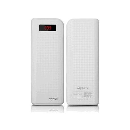iMyMax Carbon White Powerbank - 20.000mAh